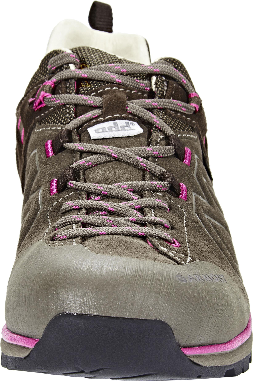 e5b20f8c01a Garmont Santiago Low GTX Hiking Low Cut Shoes Women brown/fucsia